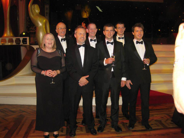 TNP at the BIBAs awards ceremony