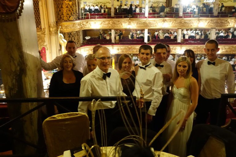 TNP celebrate in the Tower Ballroom