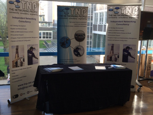 TNP attend the NWUPC supplier exhibition